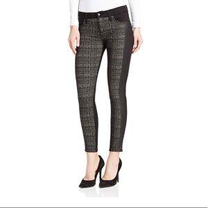 How's Jeans Super Contrast Tux Ankle Pant